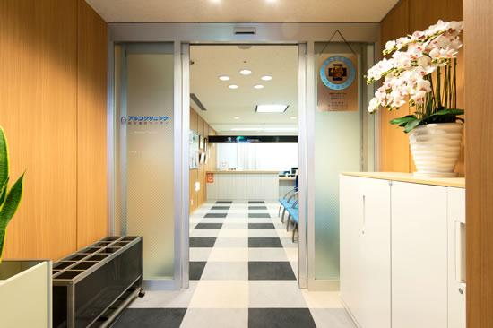健診センター入口